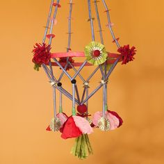 Pajaki Paper Chandeliers workshop by Mia Semingson ~ #theMakerie