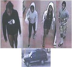 These subjects pried open a cell-phone cabinet at the Wal-mart located at 1401 Rt. 59, Joliet, IL on 08/10/13 at 0650 hours while this department was closed.  They removed thirty one smartphones and left the store without paying for the items.  Anyone that has any information as to their identiies, please contact investigations and/or Detective German #234 at 815-724-3029.