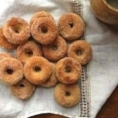 Cinnamon and Sugar Doughnuts by GamineCuisine