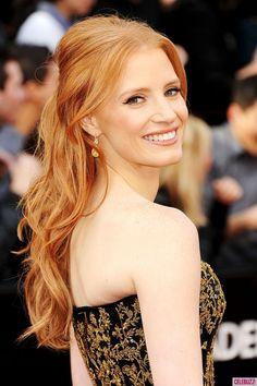 Jessica Chadtain at 2012 Oscars