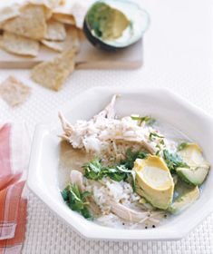 // Mexican Chicken Soup