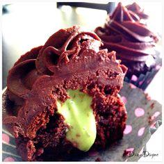 chocolate chips, almonds, chocolate cupcakes, butter, mint, paleo cupcakes, baking, paleo chocol, chocol cupcak