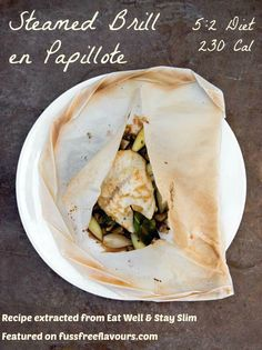 Steam Brill en Papillote