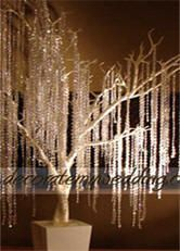 DECORATE MY WEDDING Crystal Wedding Trees, Metal Wedding Trees, Beaded Crystal Trees