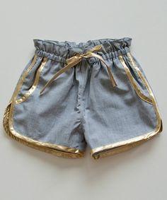 LM Shorts, Chambray, (http://www.shopminikin.com/lm-shorts-chambray/)