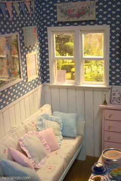 dollhouse cottage  #doll #house #shabby #chic