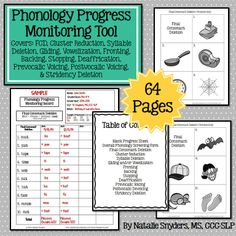 64 page progress monitoring tool for phonology!