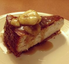 Better Banana Greek Yogurt Cheesecake |