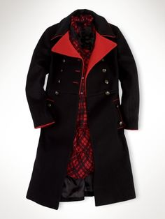 Ralph Lauren - SO this is a little girl's coat - but I want one too!