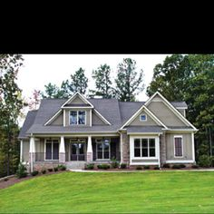 Shook Hill House On Pinterest House Plans Craftsman