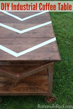 Industrial DIY Coffee Table with ProBond