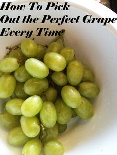 How To Pick Out Perfect Grapes Every Time