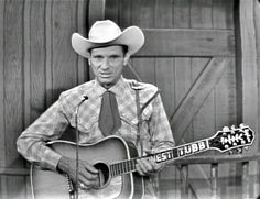 Ernest Tubb at The Grand Ole Opry