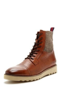 Barney Leather & Textile Boot by Ben Sherman on @HauteLook
