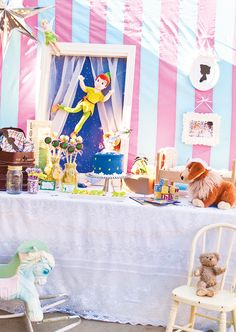 Peter Pan Nursery Inspired Dessert Table