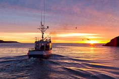 Sunrise in Petty Harbour, NL