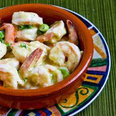 Kalyn's Kitchen: Recipe for Shrimp with Mustard-Horseradish Sauce
