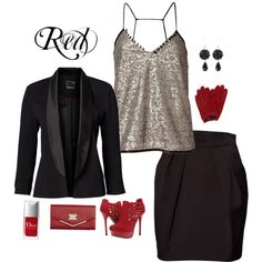 red, created by kayleekkbray.polyvore.com