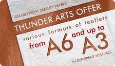 new deal for leaflets