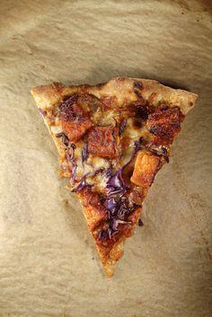 BBQ Tofu Pizza