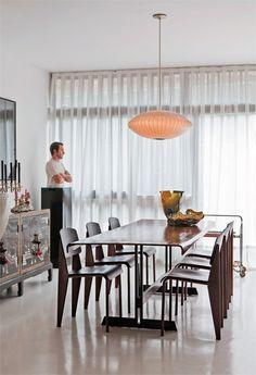 A casa do Marcelo Rosenbaum
