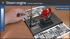 Corinth Micro Engines Augmented // Have you ever been interested in types of engines and how do they work? This ground-breaking 3D interactive educational app offers all the facts you are looking for - in a visually outstanding, easy-to-understand and fun package.