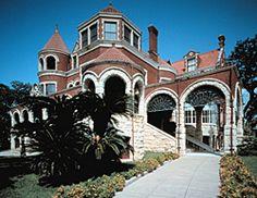 Moody Mansion Museum:  2618 Broadway Galveston, TX 77550 Phone: (409)762-7668 Phone: (409)765-9770