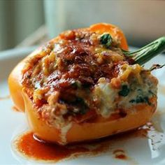Stuffed Anaheim Peppers on Pinterest