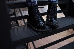 Throwback Doc Martens | Brewedtogether.com #fashion