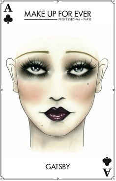 Make Up For Ever #Halloween Look - Gatsby