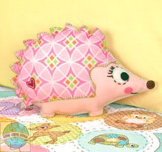 Felt applique- Happi Hedgehog from Baby hugs by Dimensions, Inc.