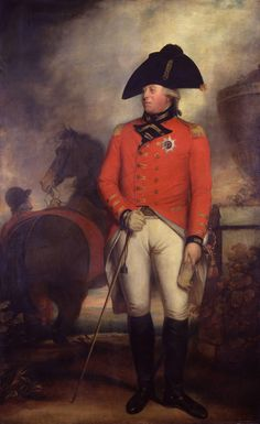 George III, King of the United Kingdom of Great Britain and of Hanover; by Sir William Beechey, c. 1799-1800. He was the son of Frederick, Prince of Wales.