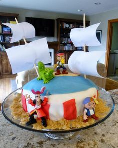 Housecalls Design: Jake and Neverland Pirates Cake