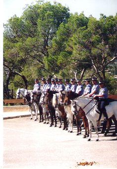 Policía montada  Palma Mallorca   Spain