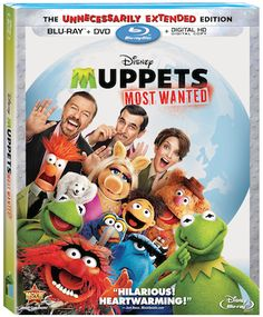Muppets Most Wanted DVD Blu-Ray Combo Pack Release Date Announced
