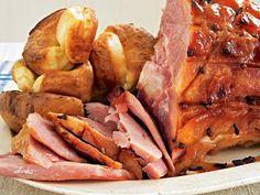 Easter Recipes Baked Honey-Glazed Ham
