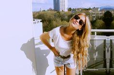 fashion, hair colors, style, long hair, blue hair, blond, summer, beauti, pastel hair