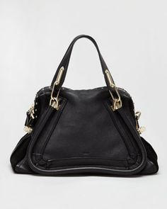 Studded Paraty Satchel by Chloe at Neiman Marcus.