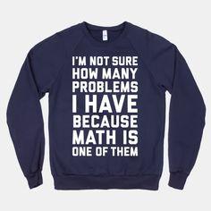 the upside of math illiteracy… haha.