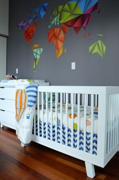 Modern nursery via Project Nursery.