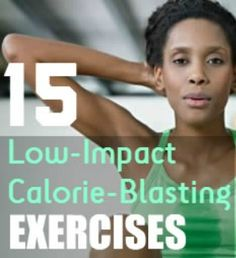 Easy-on-the-joints doesn't have to mean an easy workout. Try these fat-blasting cardio exercise ideas! | via @SparkPeople #fitness