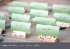 Love love. Simple and chic, wine theme.
