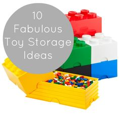 10 Brilliant ideas for kids toy storage - SOOO using the over the door doll hanger and the under bed storage ideas!!