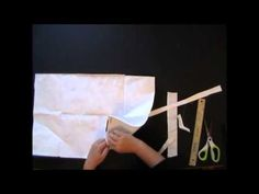 Awesome video tutorial by Ingrid Dijkers on how to take apart a binder for a journal.