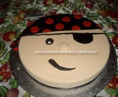Cool pirate cake