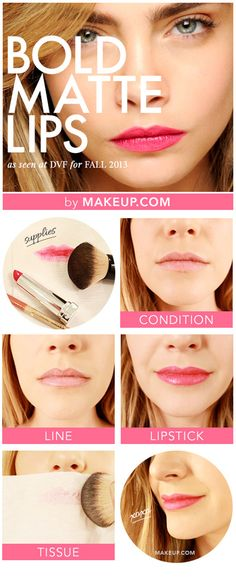 Spring Beauty: Bold Matte Lip Tutorial