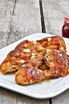 Super Moist Oven-Fried Buttermilk Chicken | The Hopeless Housewife