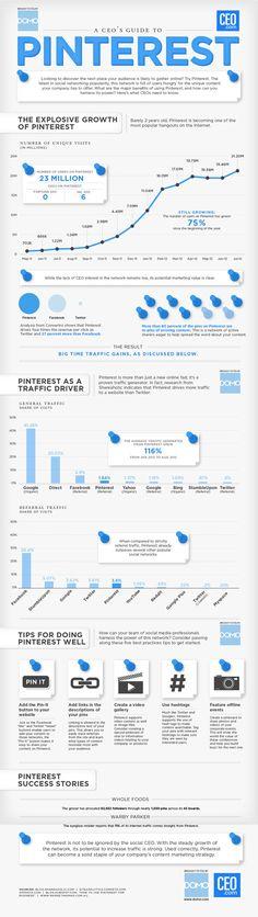 Los datos más relevantes sobre #Pinterest.