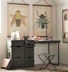 inspirational workspace #desk #studio #vintage