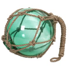 Pile glassing fishing floats in a large bowl for a nautical centerpiece. | $39.23